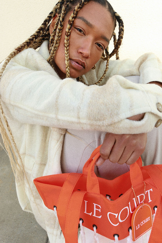le court debuts new le tote handbag basketball inspired lifestyle brand