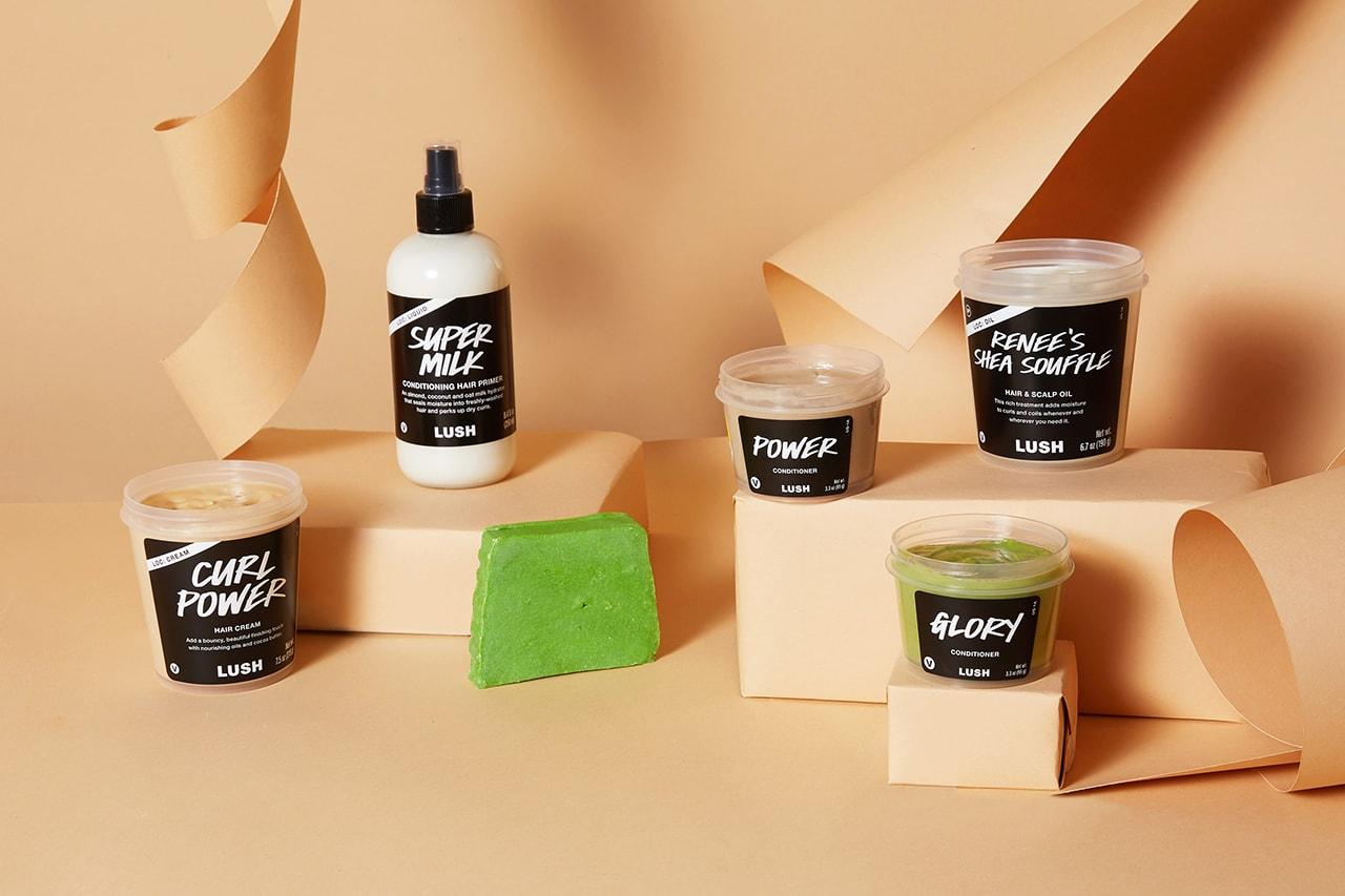lush cosmetics sarah sango collaboration black hair haircare co wash conditioner scalp oil cream