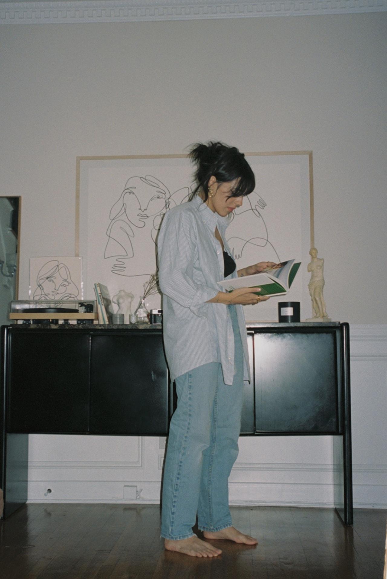 Orion Carloto Film for Her Author Poet Writer Social Media Influencer Home Book Shelf
