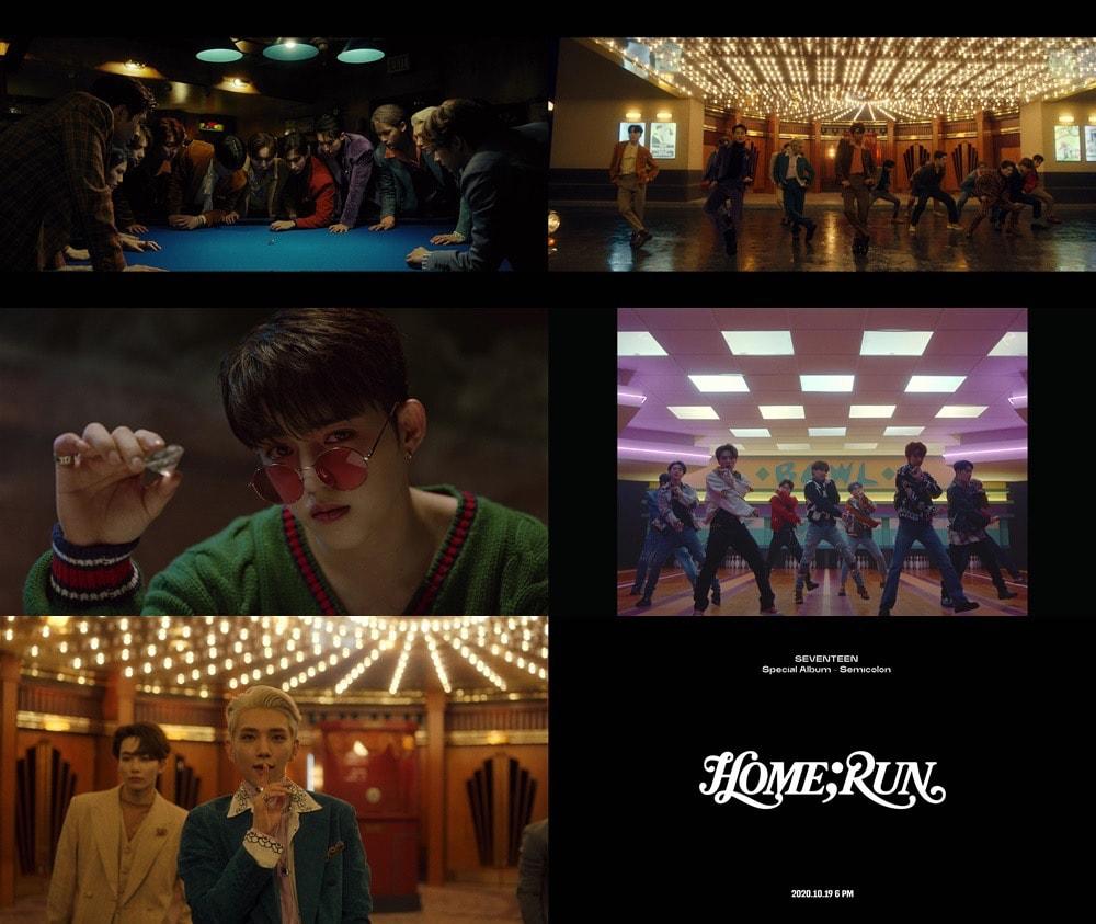 SEVENTEEN K-pop Group Boy Band Members Semicolon S.Coups Jeonghan Joshua Jun Hoshi Wonwoo Woozi DK Mingyu The8 Seungkwan Vernon Dino PLEDIS Entertainment