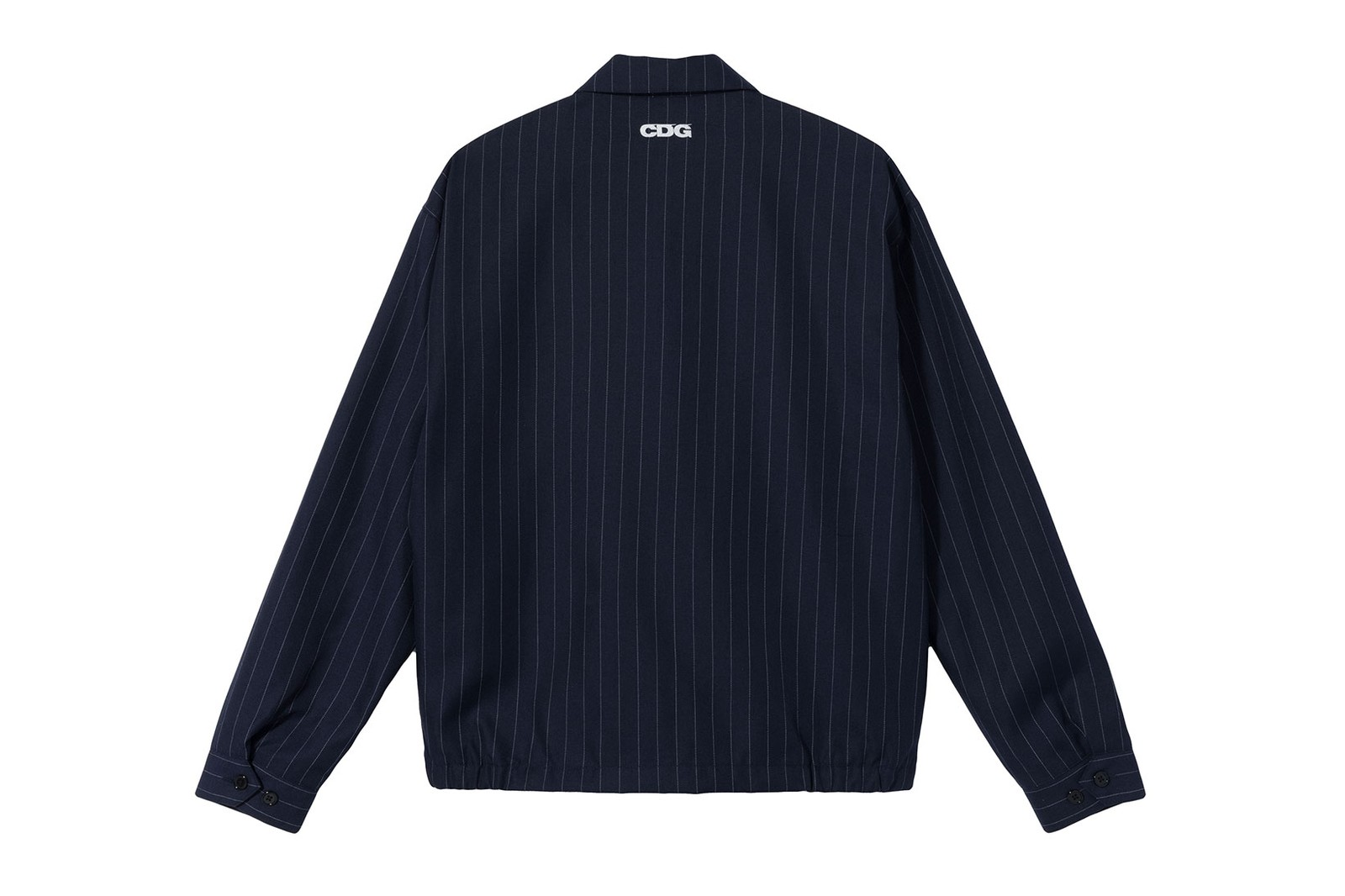 stussy cdg comme des garcons collaboration ma1 bomber jacket t-shirts bucket hats full look release