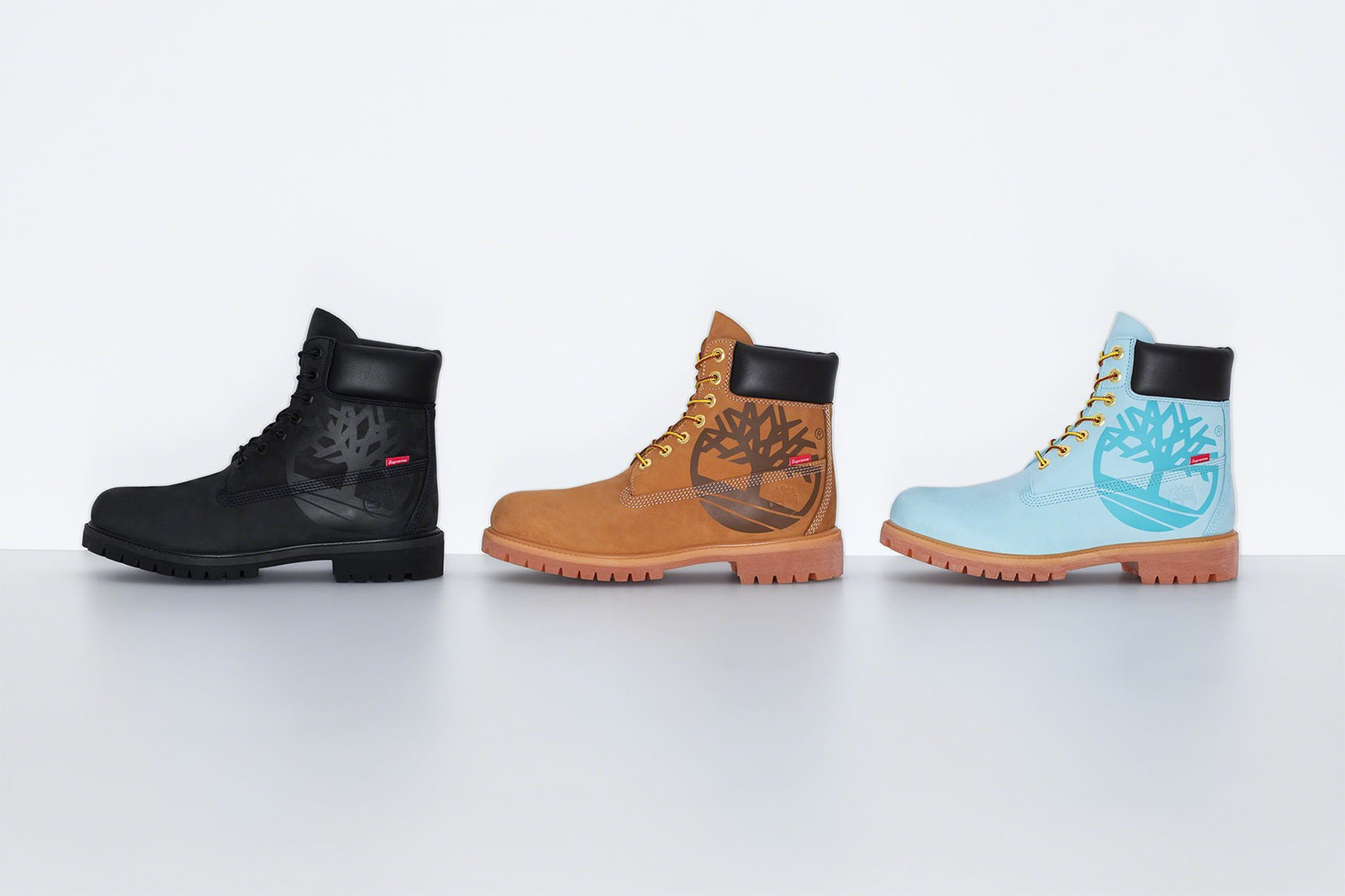 timberland supreme 6 inch boots waterproof collaboration tan brown blue black release