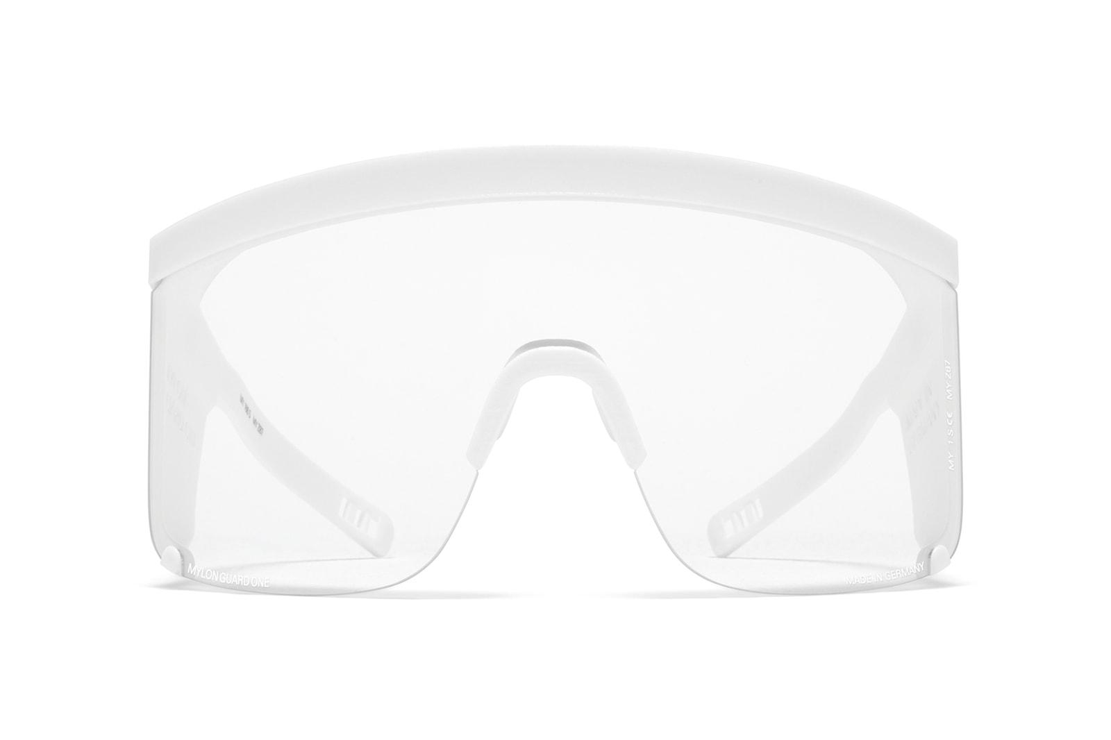 MYKITA Mylon Guard One Safety Glasses Shield PPE Protective Eyewear Coronavirus COVID-19
