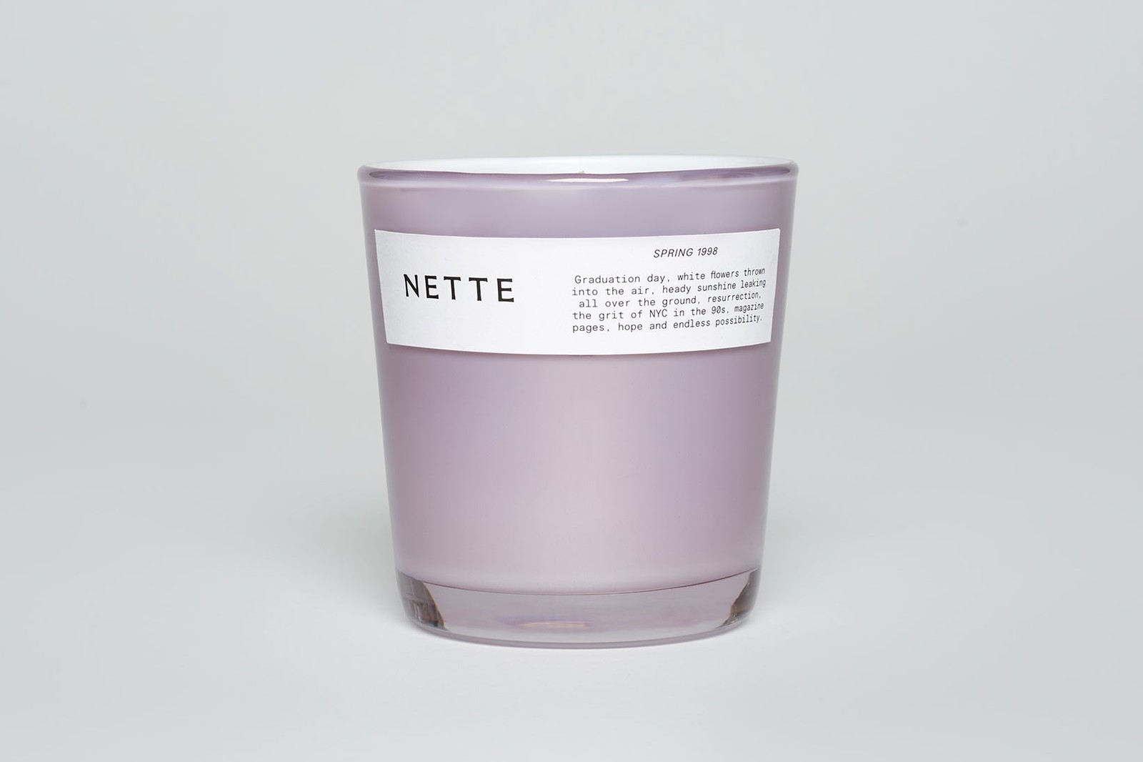 nette candles sustainable eco-friendly home scents take good care set lighters scrunchies launch