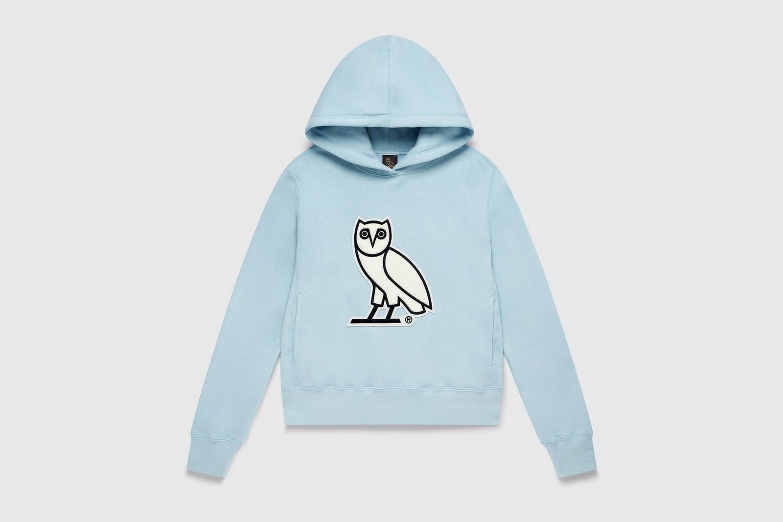 ovo octobers very own drake womenswear line launch sofia richie fall winter hoodies sweatshirts loungewear pajamas