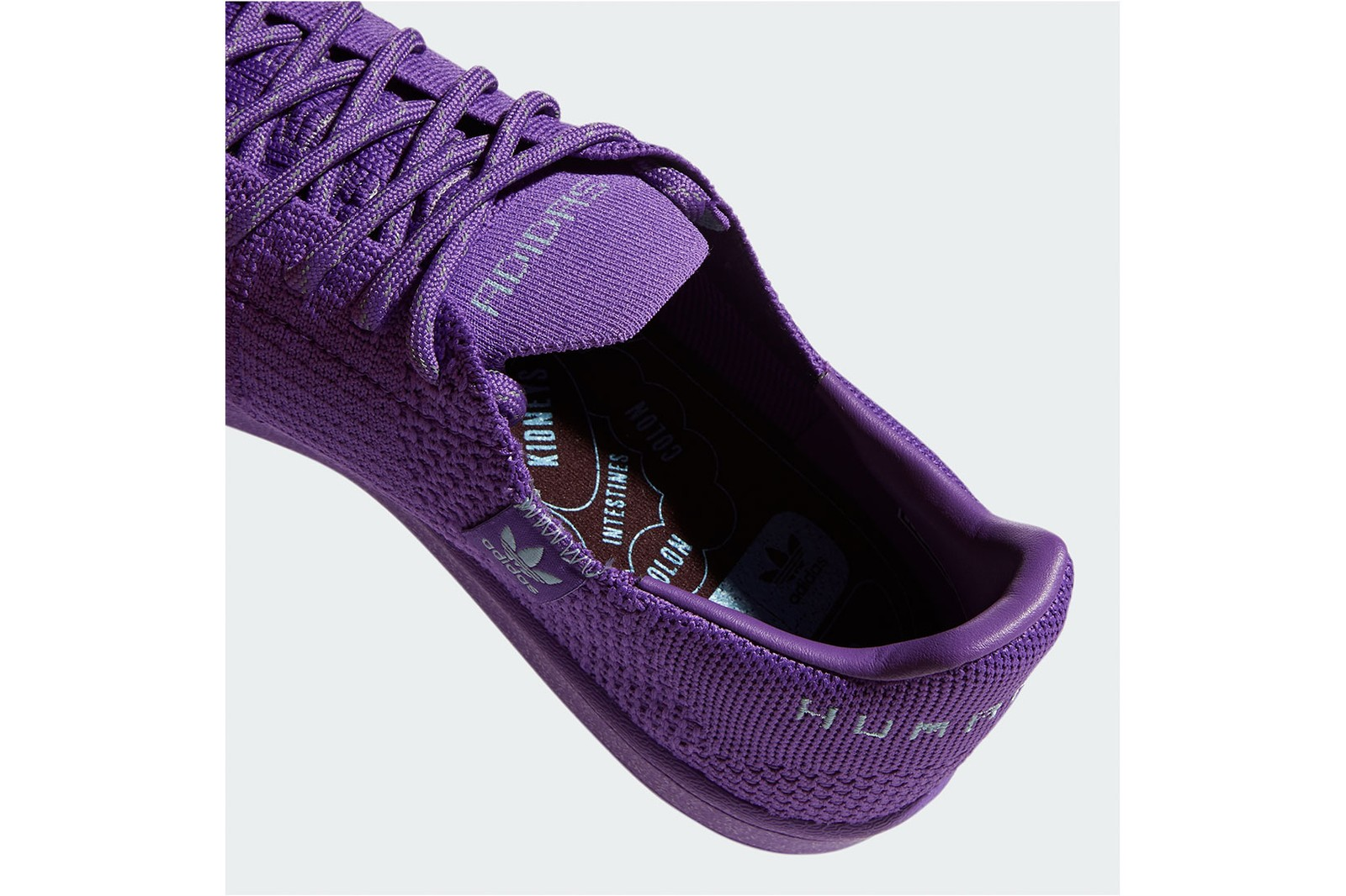 pharrell williams adidas originals primeknit superstar pk yellow purple brown official release date price