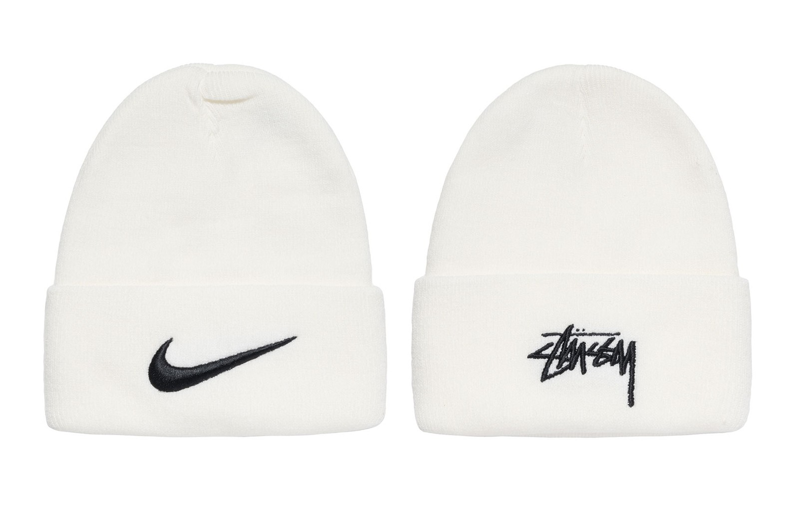 stussy nike air force 1 af1 apparel clothing collaboration sweatshirts slides bucket hats release
