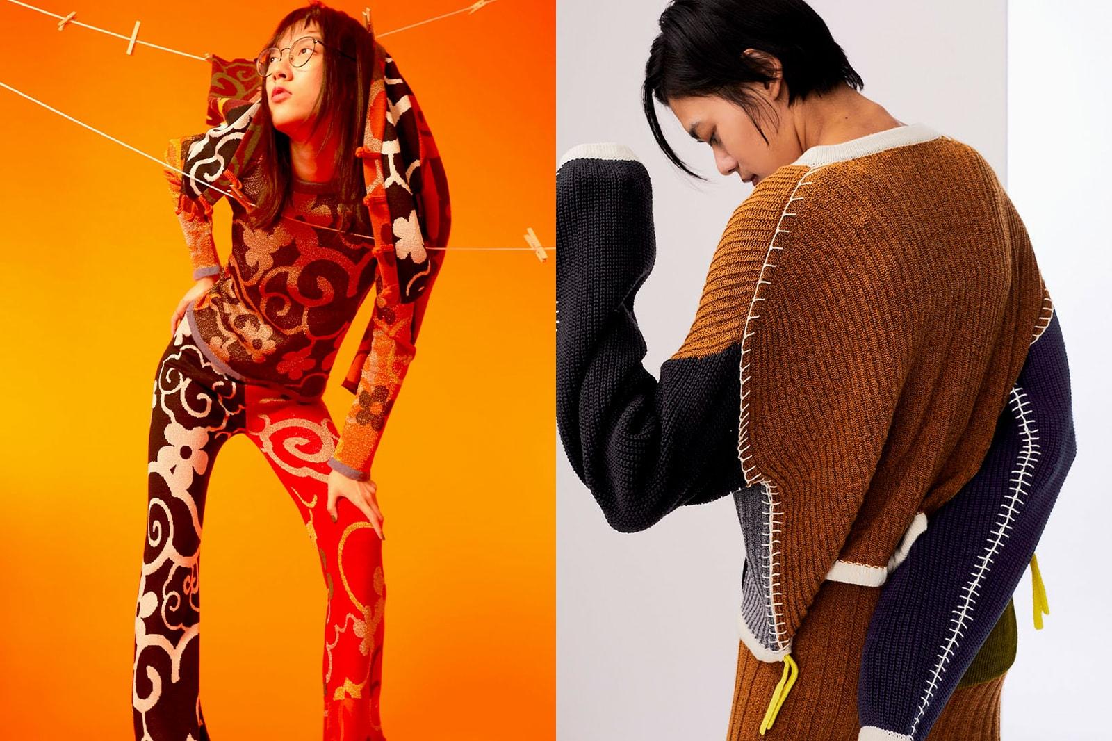 best sustainable eco-friendly knitwear brands sweaters cardigans yanyan hong kong pants