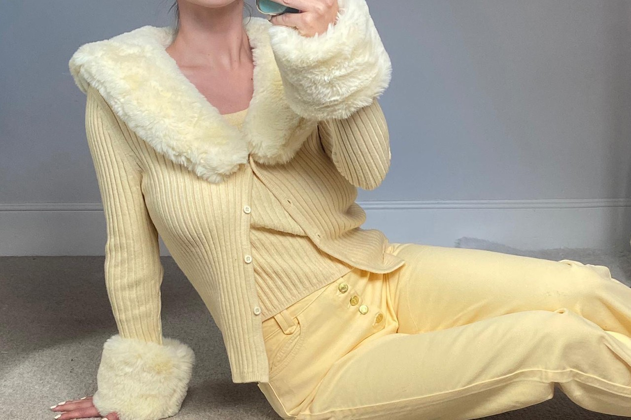 best sustainable eco-friendly knitwear brands cardigans house of sunny blonde peggy