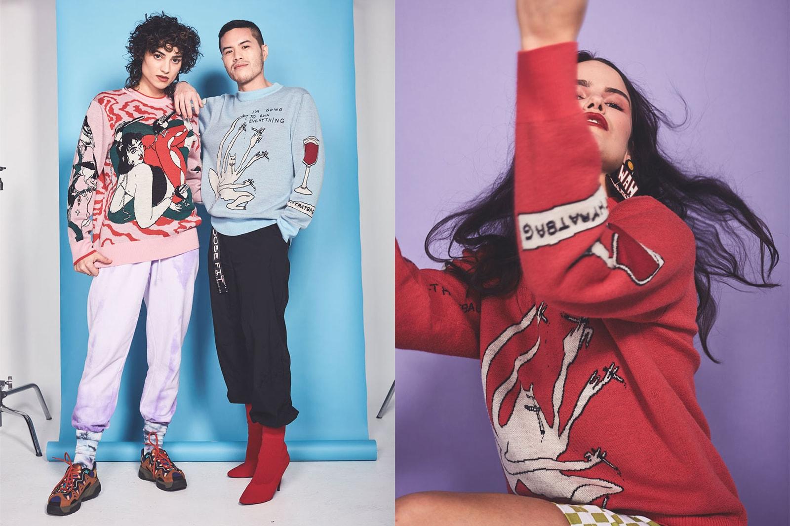 best sustainable eco-friendly knitwear brands sweaters cardigans wah-wah australia