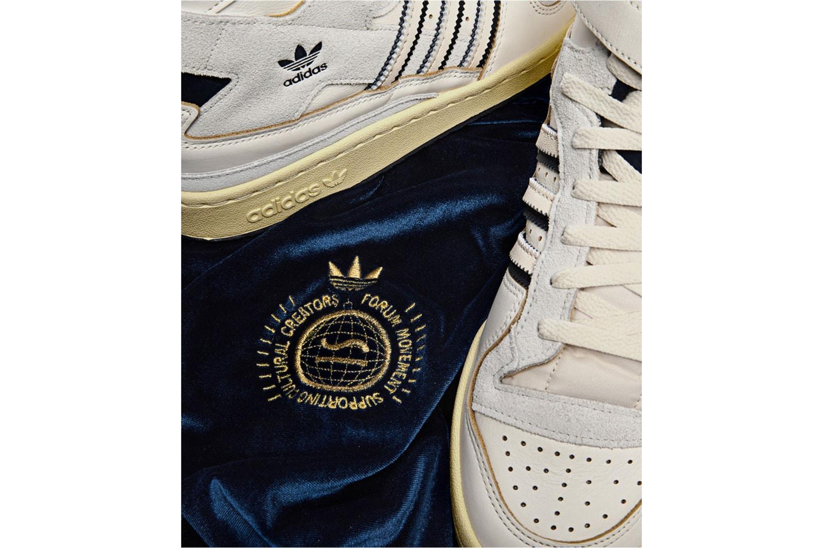 adidas originals forum 84 sivasdescalzo svd collaboration retro vintage sneakers barcelona release voodoo club