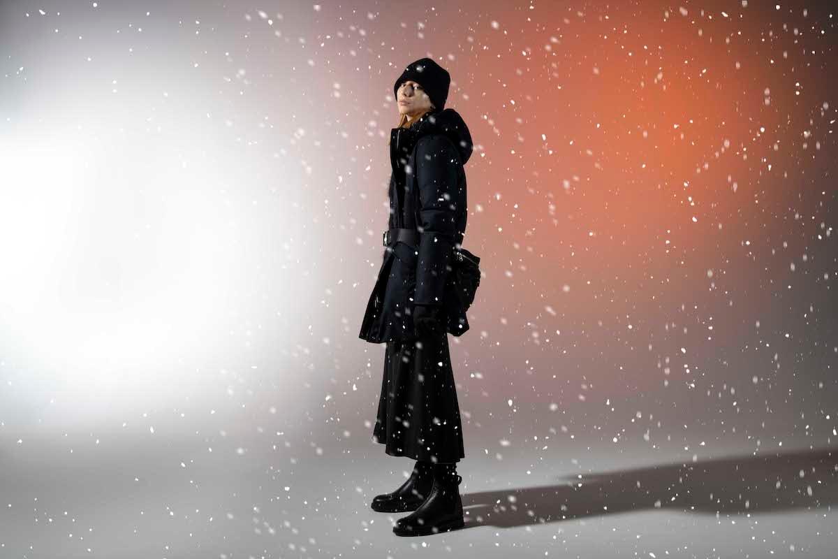 woolrich parka line women luxe eco innovation tech photoshoot hypebeast fashion apparel