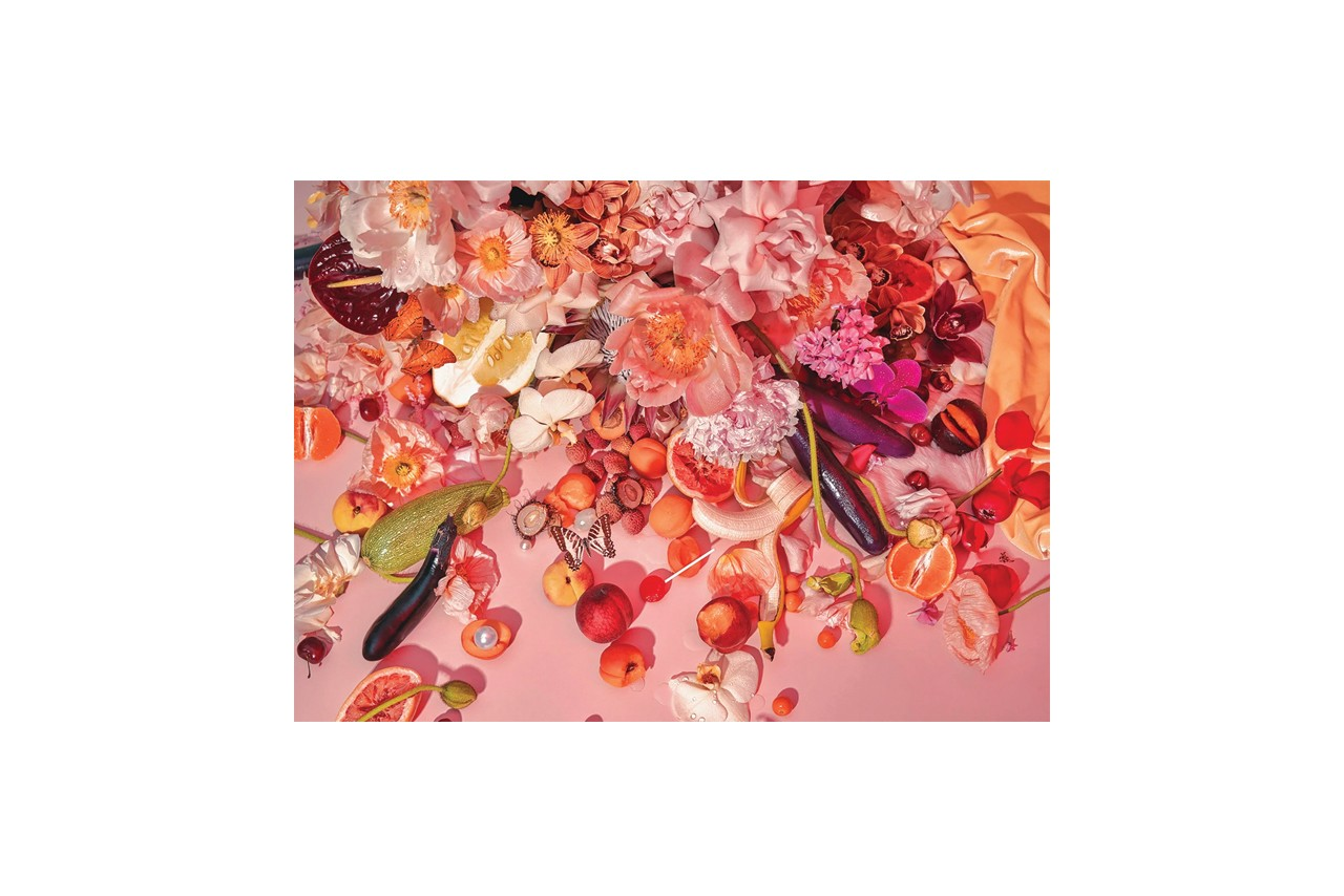 Piecework Puzzles Jigsaw Puzzle for Adults Aesthetic Beautiful Art Home Decor Tickled Pink Flowers Fruits Butterfly Carl Ostberg 500 1000 pieces