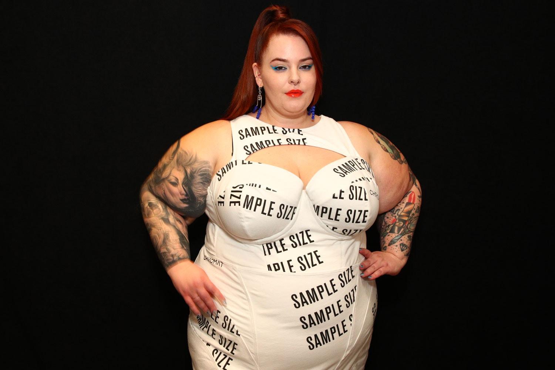 plus size model runway show fashion black women body positivity representation diversity