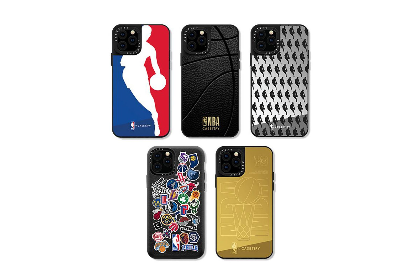 casetify nba national basketball association collaboration cases apple iphone black gold