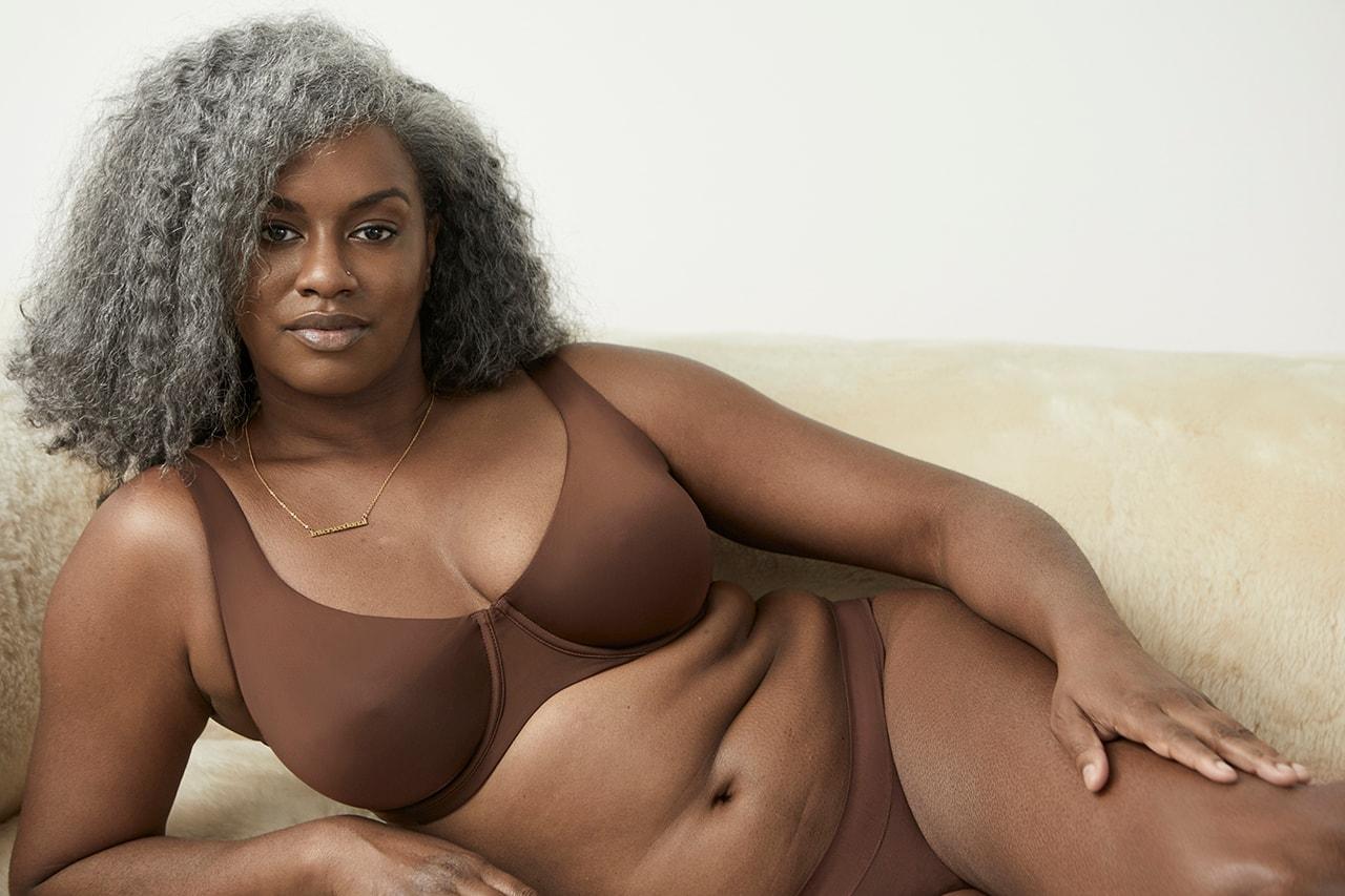 Mature black women in lingerie Cuup Casts Older Models For Lingerie Campaign Hypebae