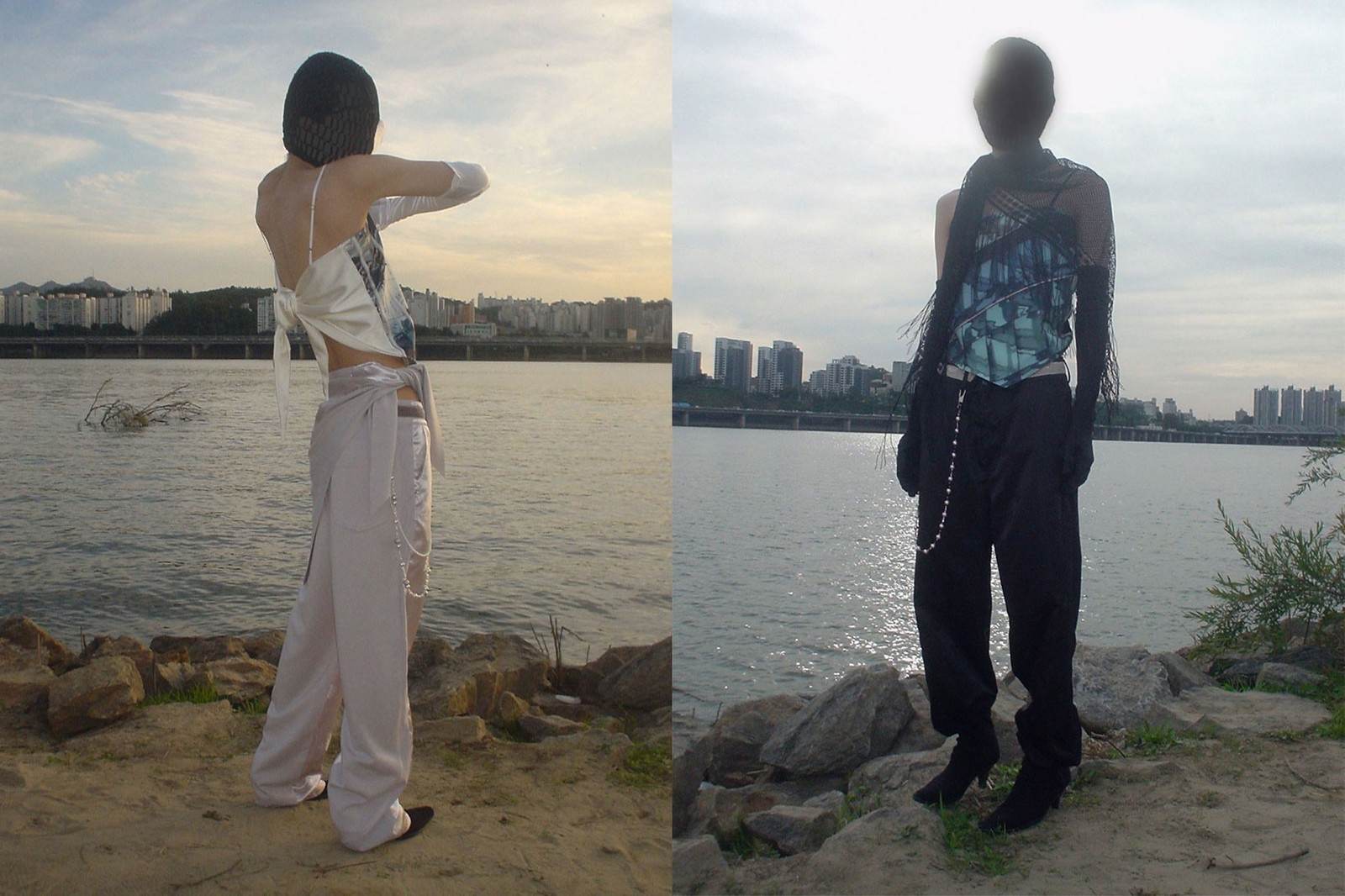 korean fashion emerging female fashion designers brands jichoi glasklar spring summer ss21 lookbook