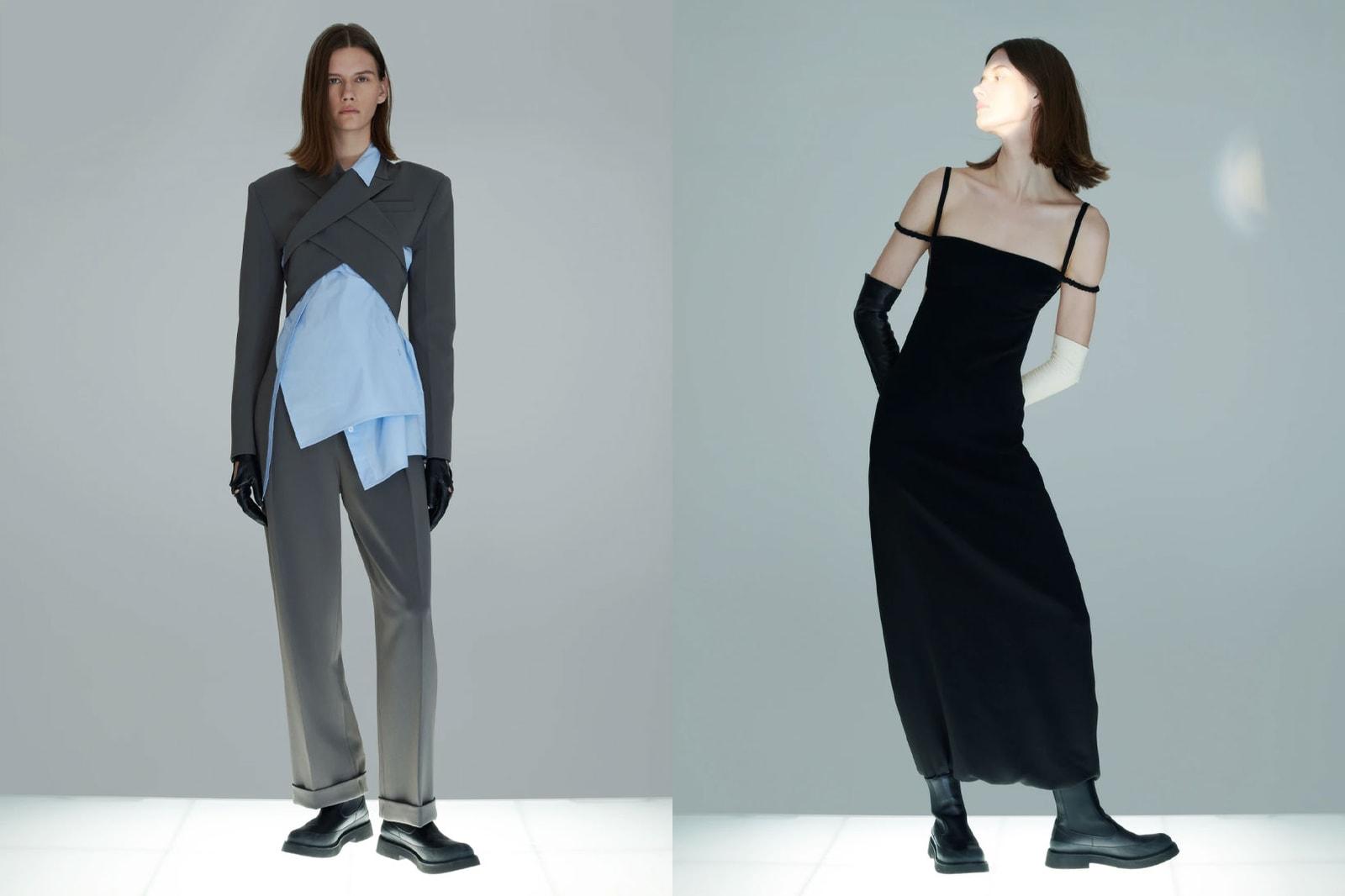 korean fashion emerging female fashion designers brands moon choi blazer black dress