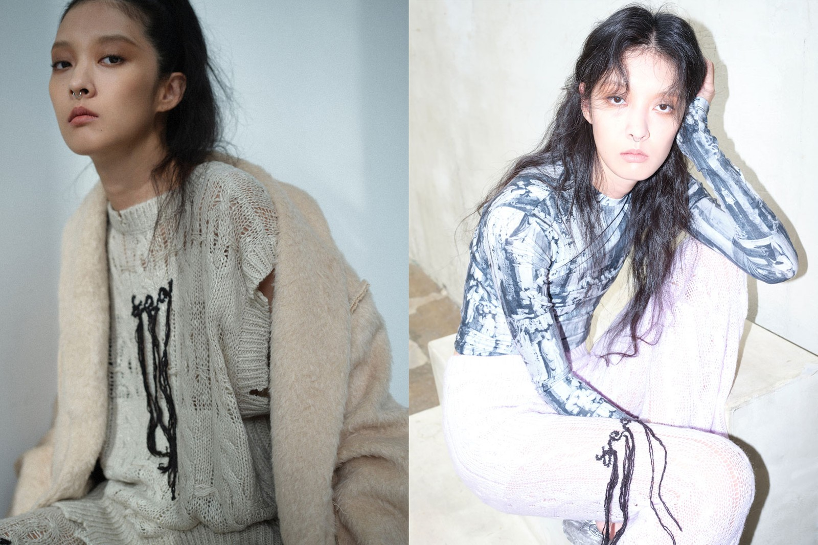 korean fashion emerging female fashion designers brands seo seoul kang so young knitwear