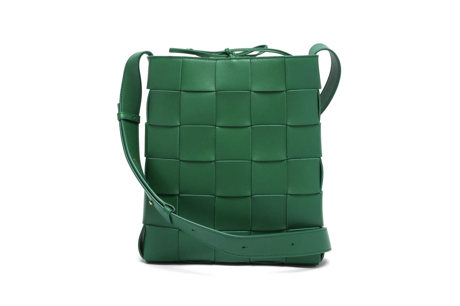 Spring/Summer 21 Green Bag Trend Accessories Sage Green Prada Bottega Veneta Gucci Jacquemus By Far