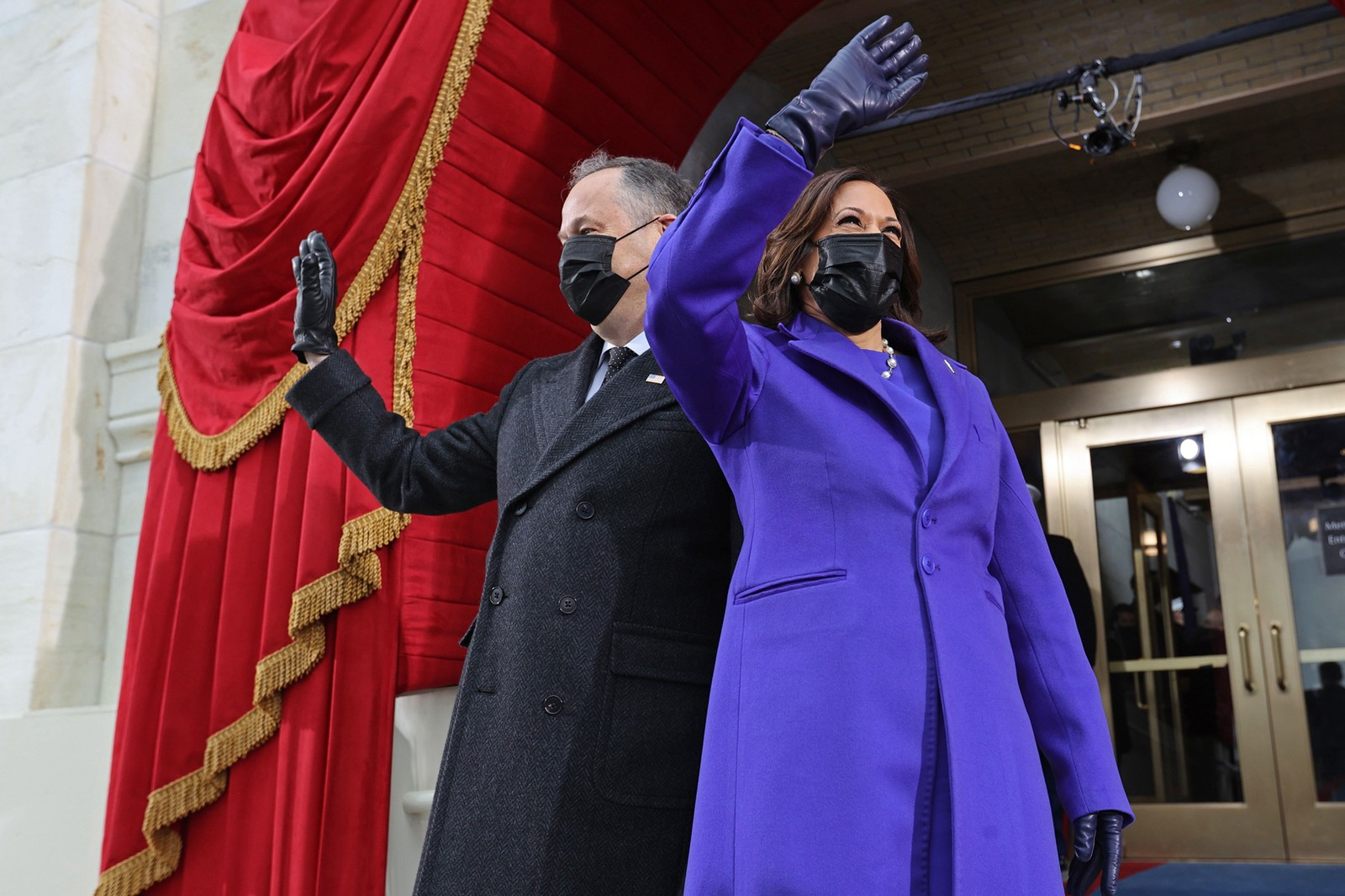 Kamala Harris Joe Jill Biden 59th Presidential Inauguration Day 2021