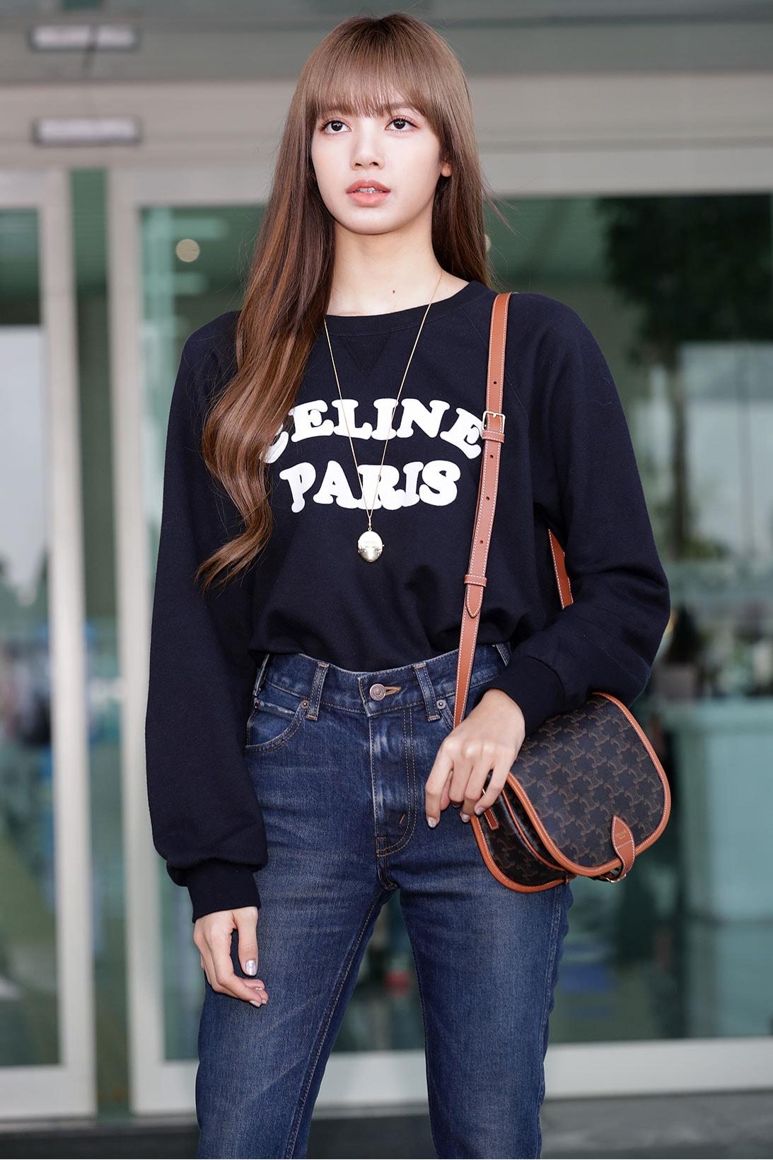 blackpink lisa style outfit wardrobe essentials how to dress like k-pop celebrity singer