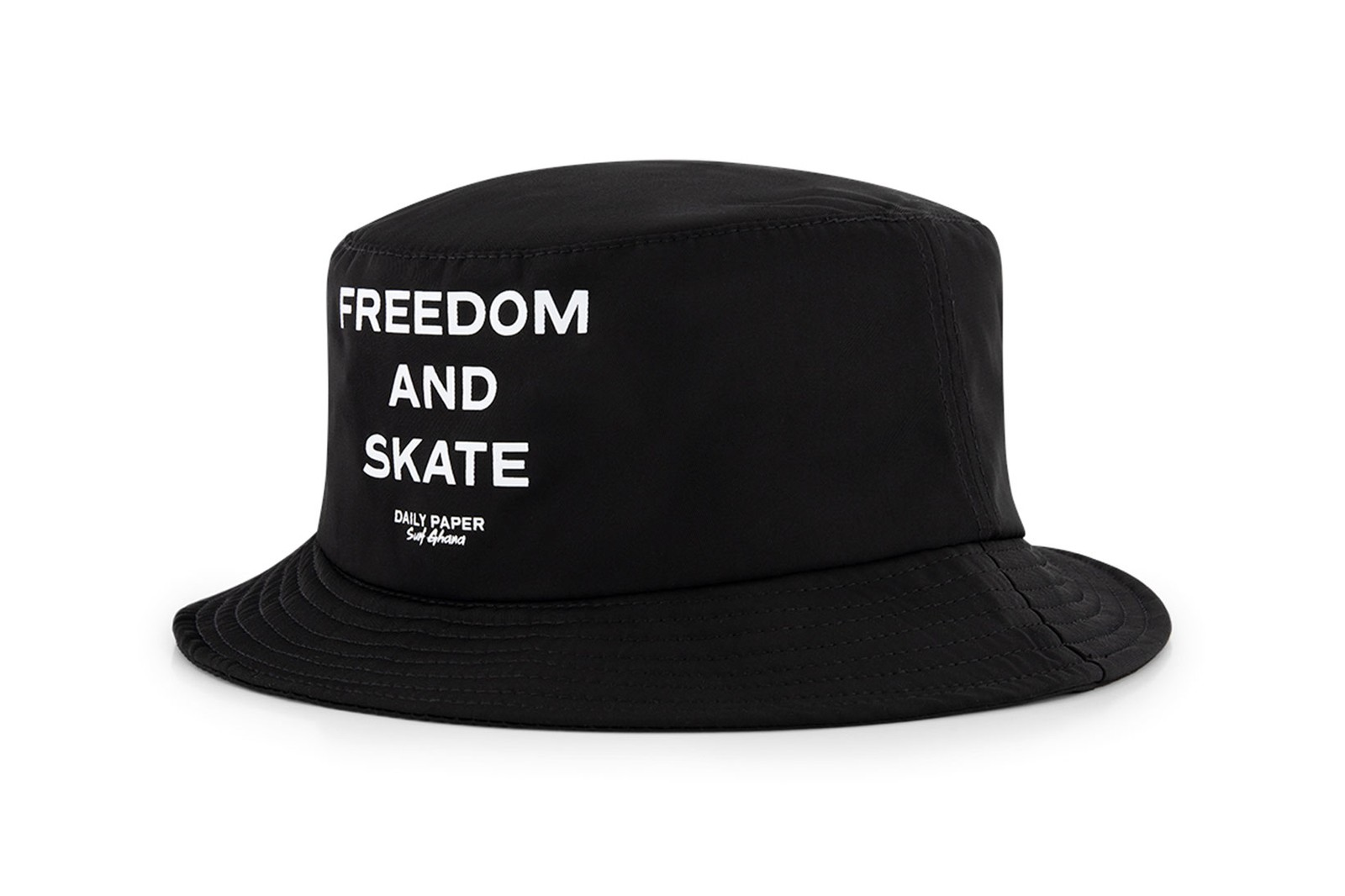 off-white daily paper surf ghana first freedom skate park collaboration t-shirts bucket hats
