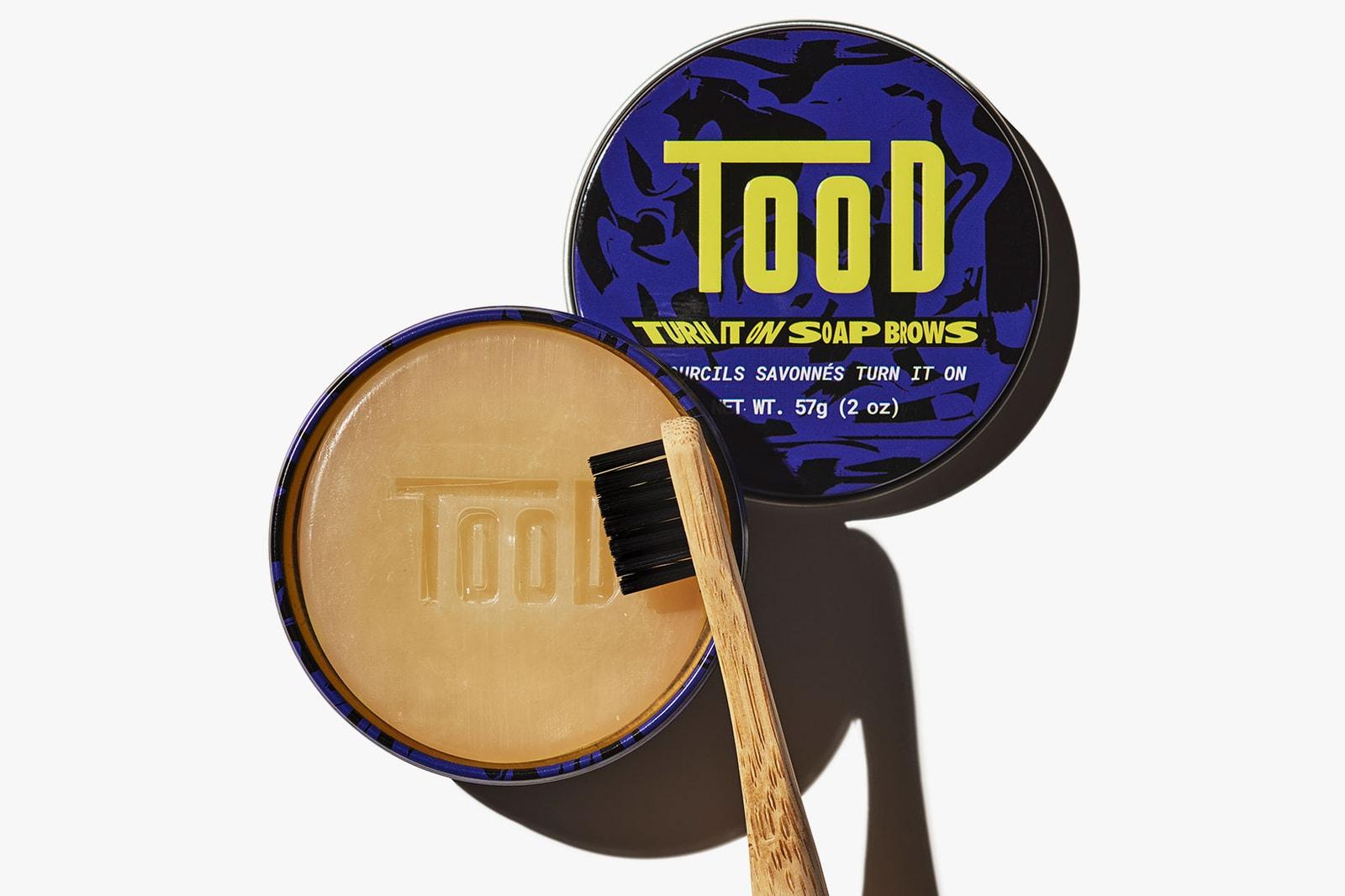 tood beauty tun it on soap brow brush bamboo