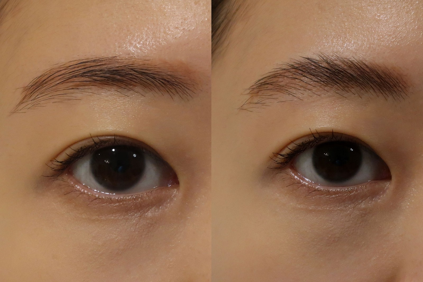 soap brows how to tutorial review before after eyes