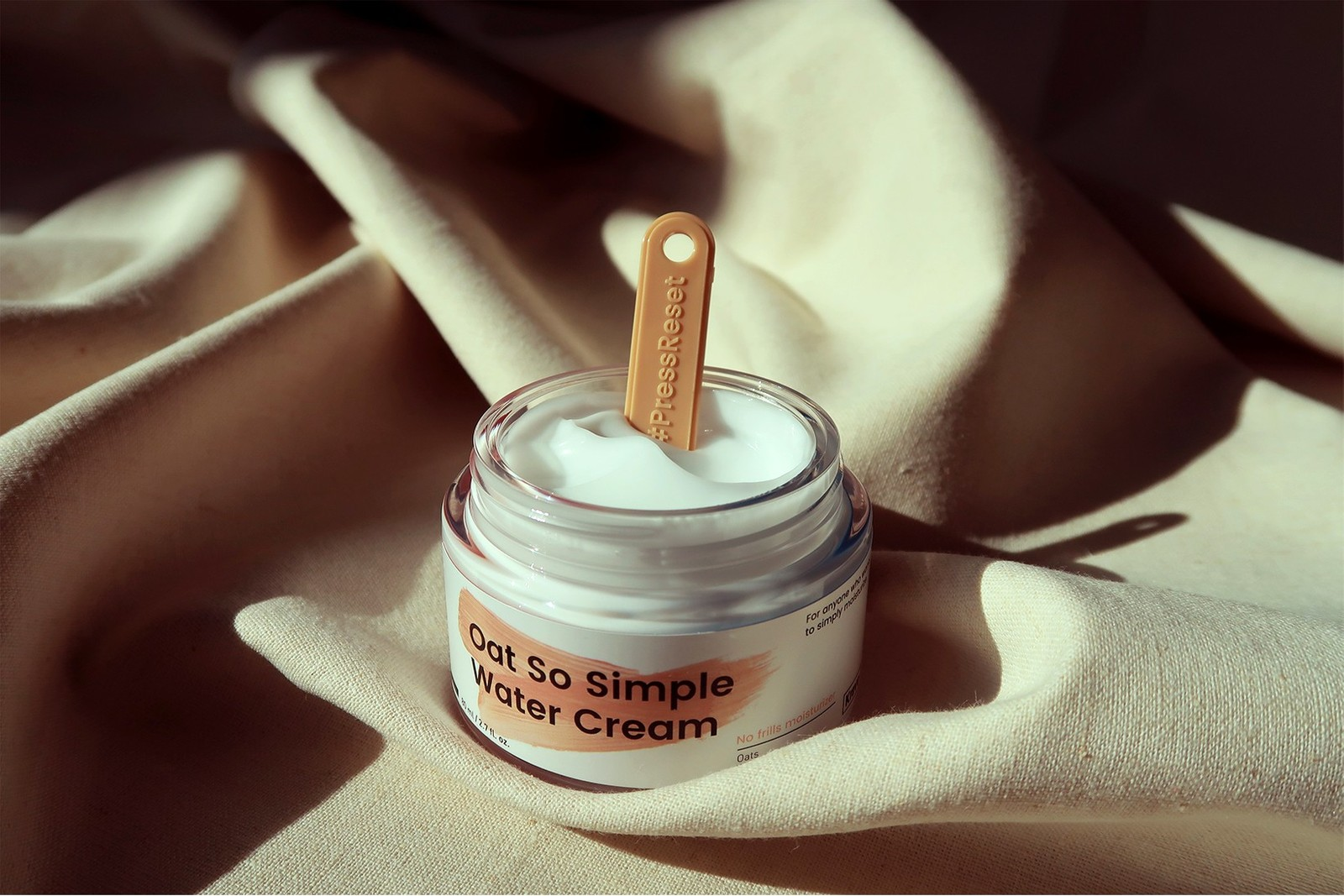krave beauty oat so simple water facial cream sustainable eco-friendly korean brands