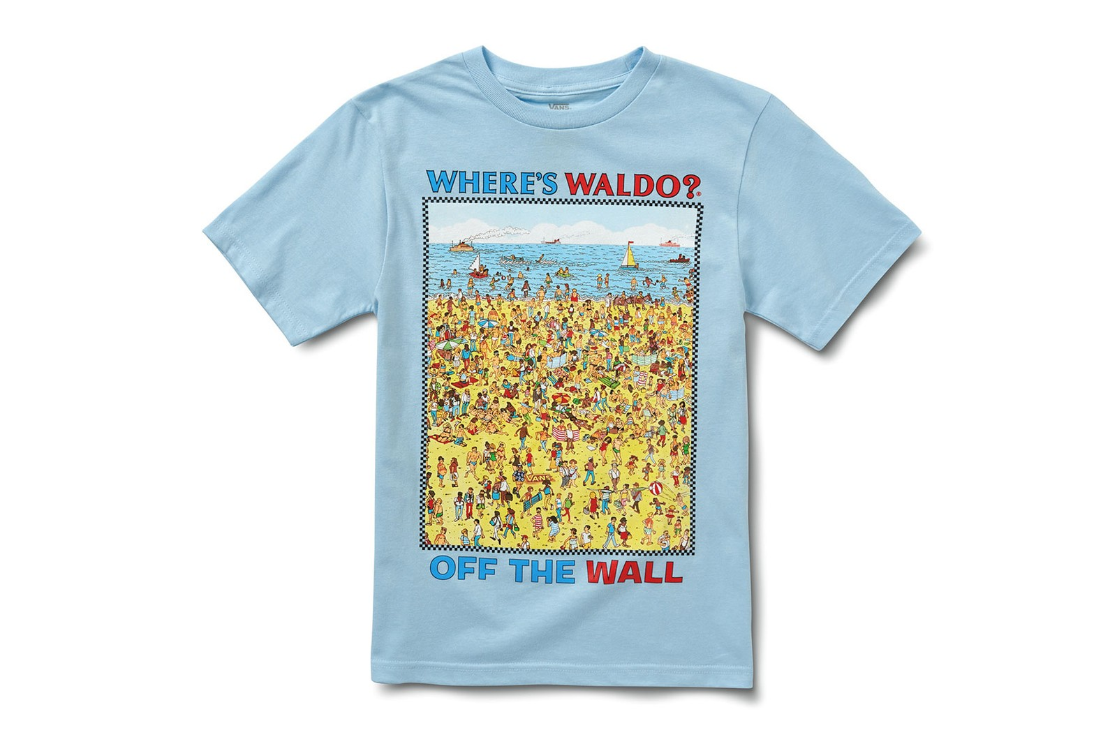 vans wheres waldo wally collaboration kids slip-on era old skool sk8-hi t-shirts hoodies