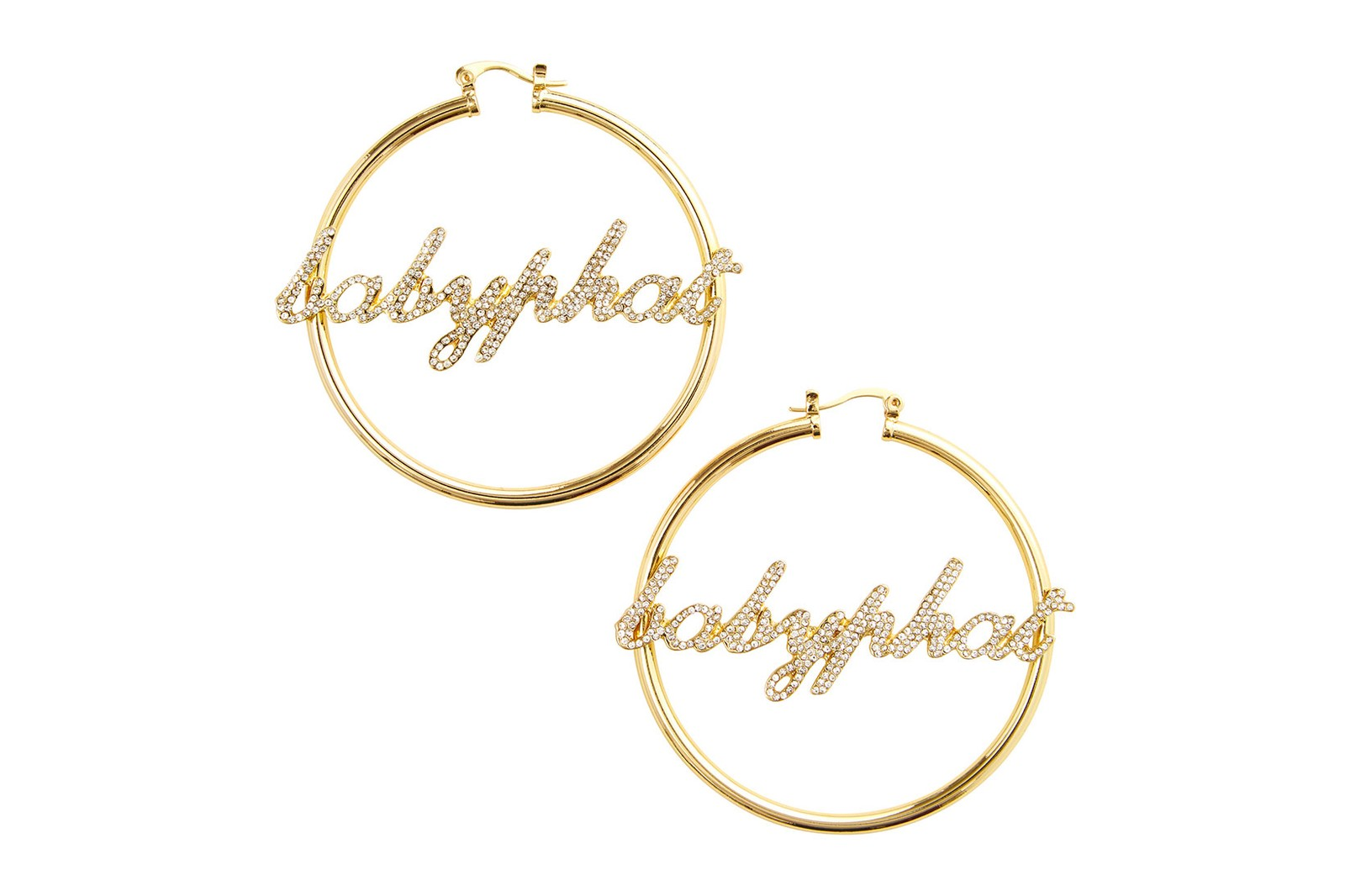 baby phat jewelry capsule collection 18k yellow gold earrings necklaces price where to buy kimora lee simmons