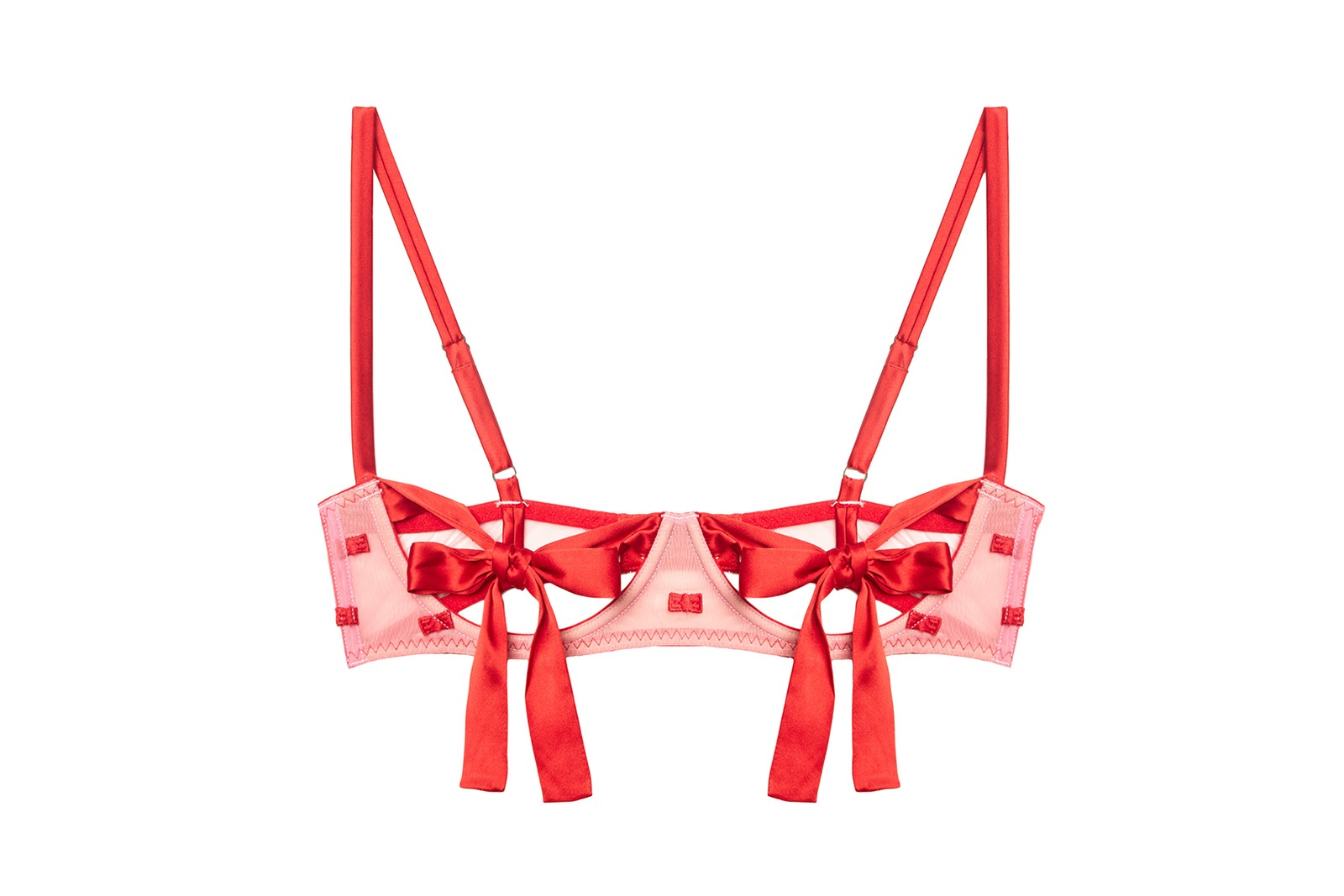 savage x fenty rihanna agent provocateur lingerie bra underwear stockings pink red