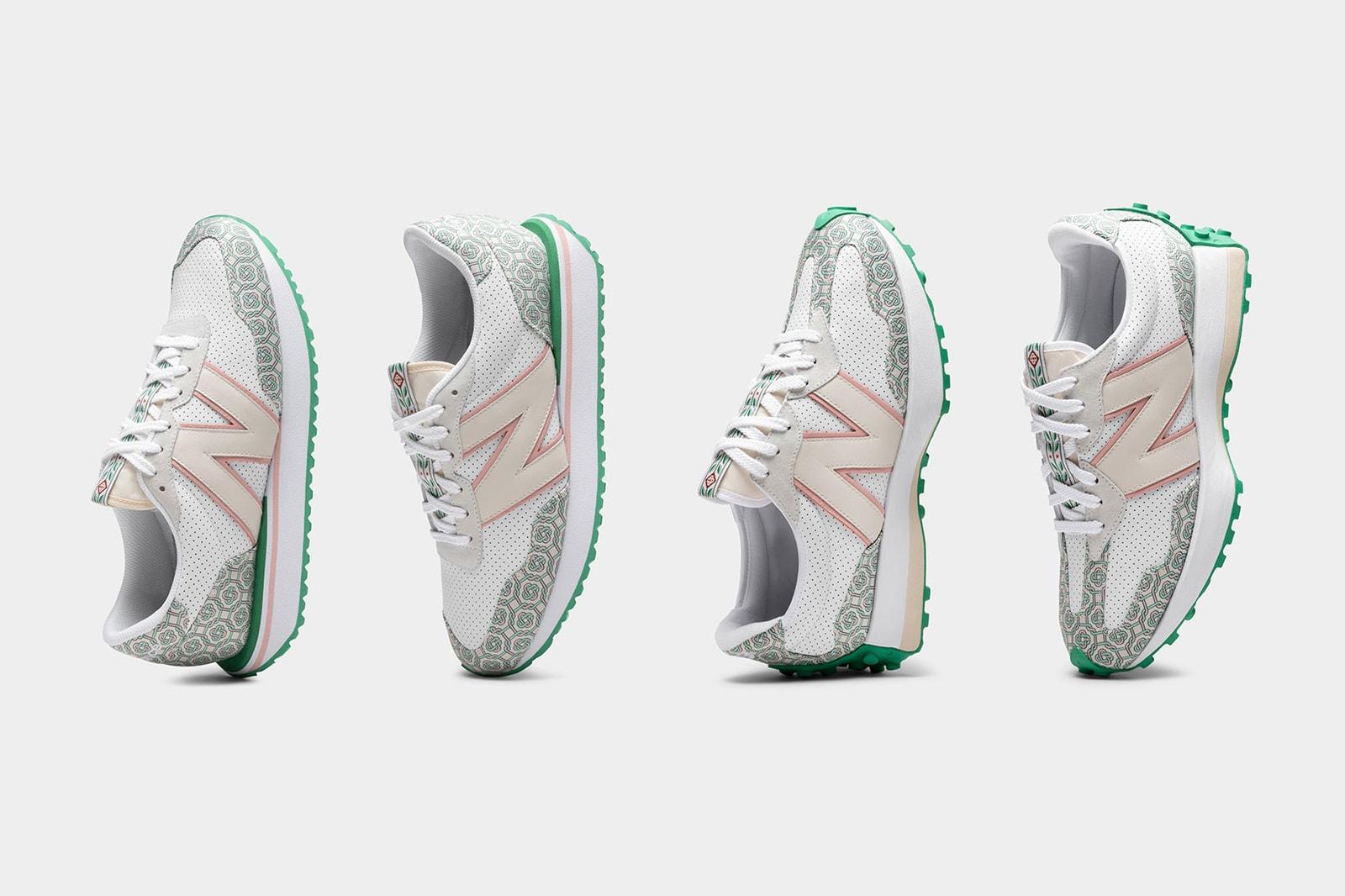 casablanca new balance sneakers collaboration nb 327 237