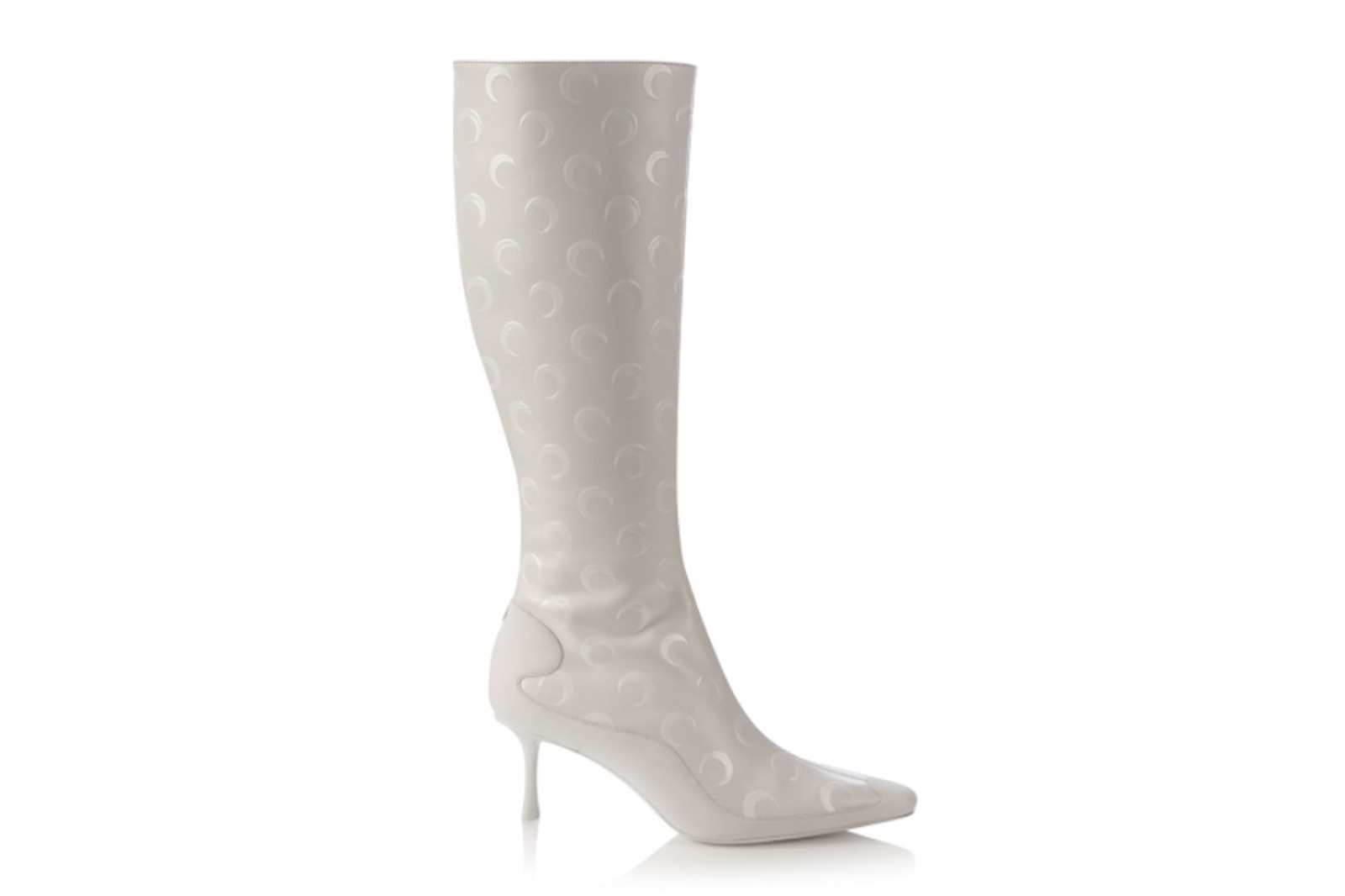 marine serre jimmy choo shoes collaboration sock heels boots release where to buy
