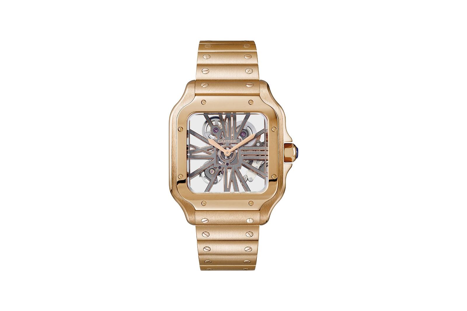 santos de cartier designer wristwatch the culture of design campaign