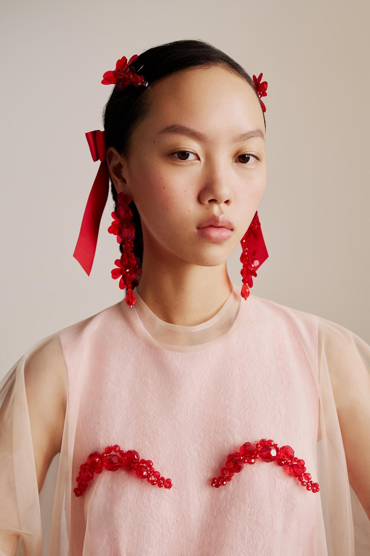 Simone Rocha x H&M Collaboration Campaign Daisy Edgar-Jones
