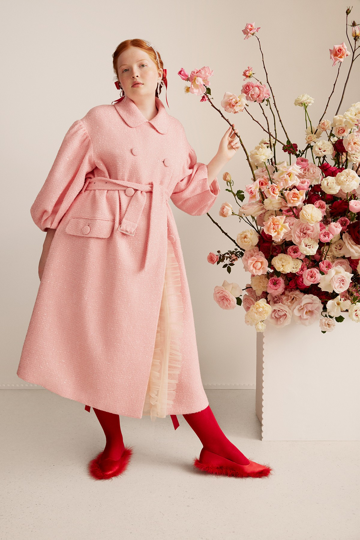 Simone Rocha x H&M Collaboration Campaign Daisy Edgar-Jones