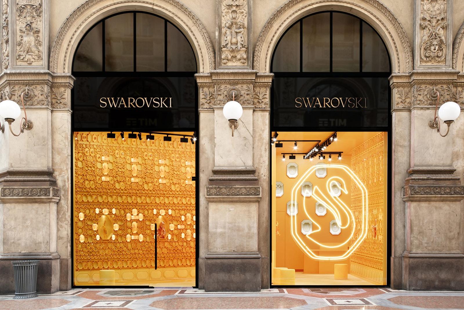 swarovski rebrand redesign store adwoa aboah campaign jewelry