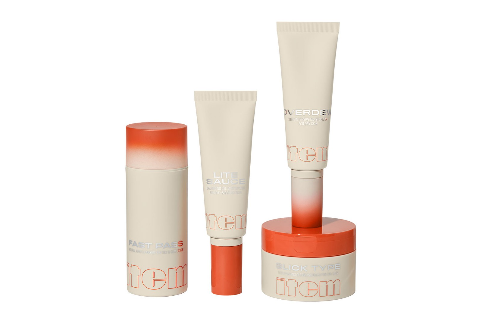 addison rae item beauty skincare collection face cleansers moisturizers balms price where to buy