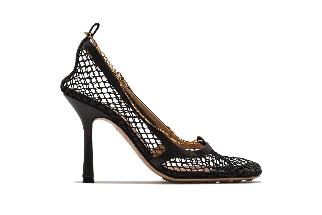 Best Spring/Summer Heeled Sandals and Pumps Shoes Bottega Veneta Prada By Far Saint Laurent The Row JW Anderson Amina Muaddi