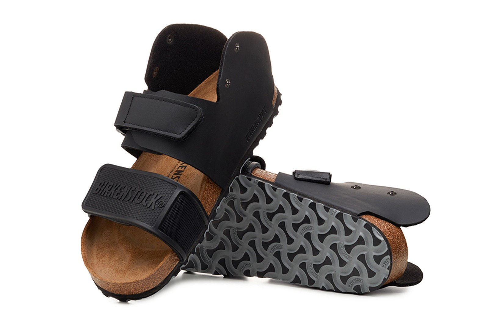 birkenstock central saint martins csm ual collaboration sandals slides emerging designers dingyun zhang saskia lenaerts alecsander rothschild alex wolfe