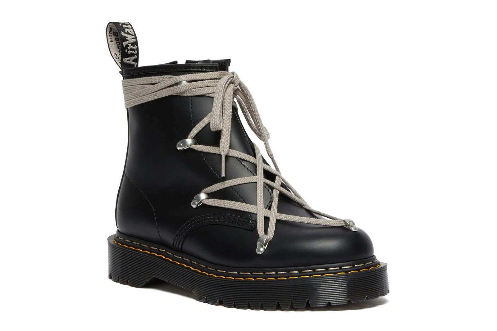 rick owens dr martens 1460 bex platform boots shoes collaboration release date where to buy
