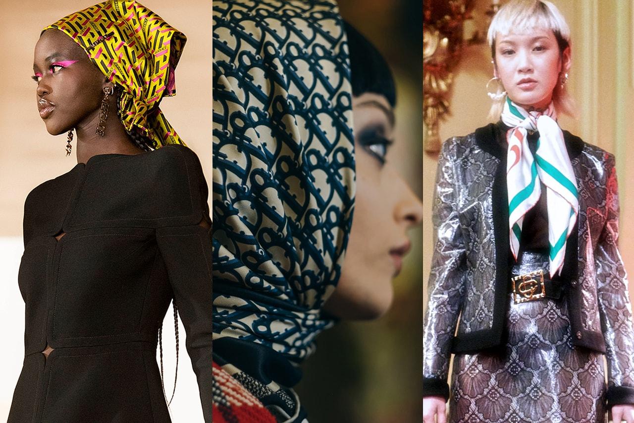 Prada Cleo Bag Oversized Big Large Black Leather Runway Gloves Zipper Pouch Logo Best Accessory Trends Fall Winter 2021 Fashion Week Month Miuccia Raf Simons