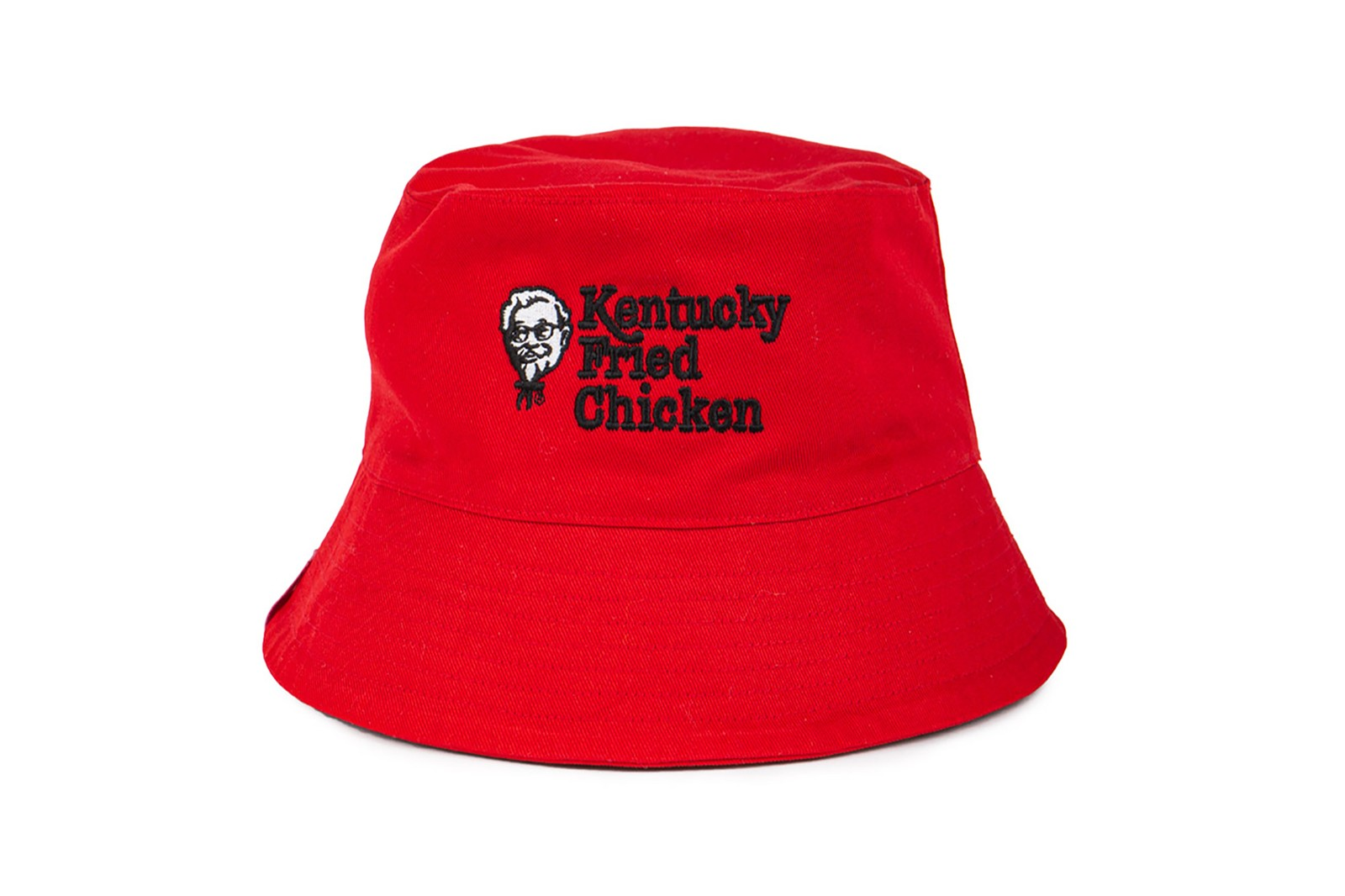 kfc bucket hat kentucky fried chicken foundation comic relief red nose day charity donation uk united kingdom ireland red white