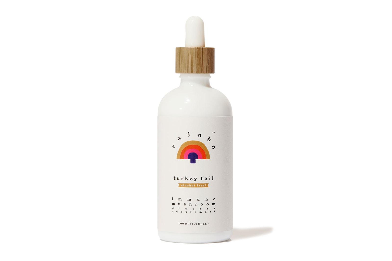 rainbo mushrooms spirit bear chaga turkey tail extract tincture wellness supplements powder where to buy