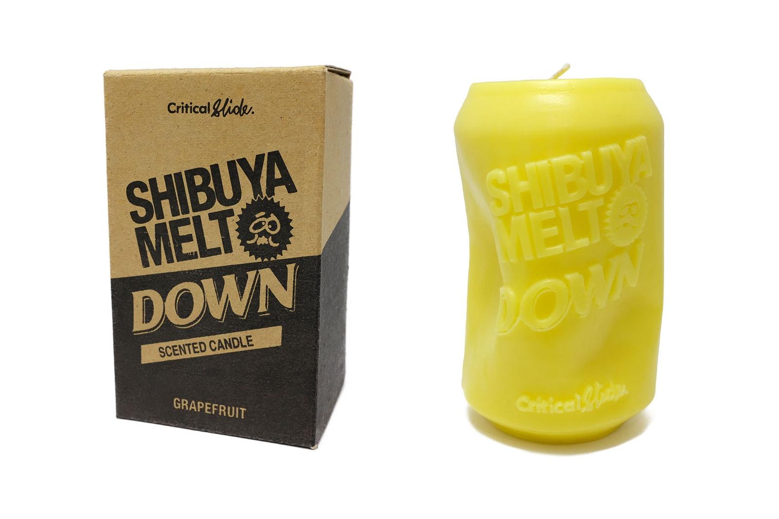 shibuya meltdown collection logo tee t shirt black white jacket