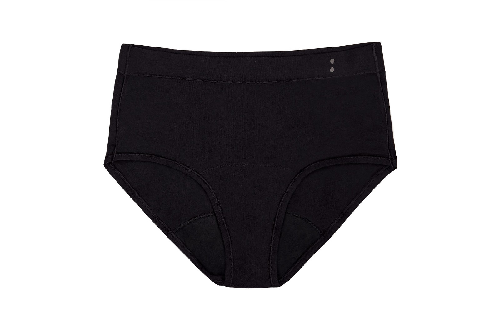 thinx for all period underwear brief bikini high waist collection inclusive sizes black cray colorway