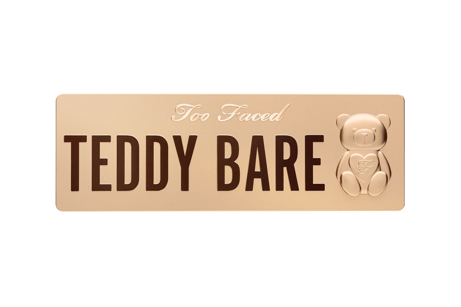 too faced the teddy bare collection eyeshadow lip plumper bronzer makeup