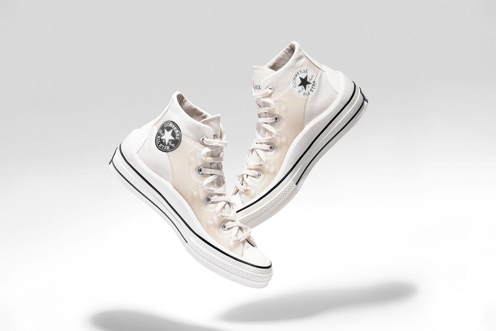 converse kim jones chuck 70 sneakers collaboration tee t shirt pants cream white